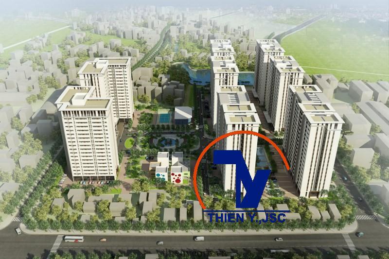 Dự án nhà ở xã hội CT03 Phú Lãm